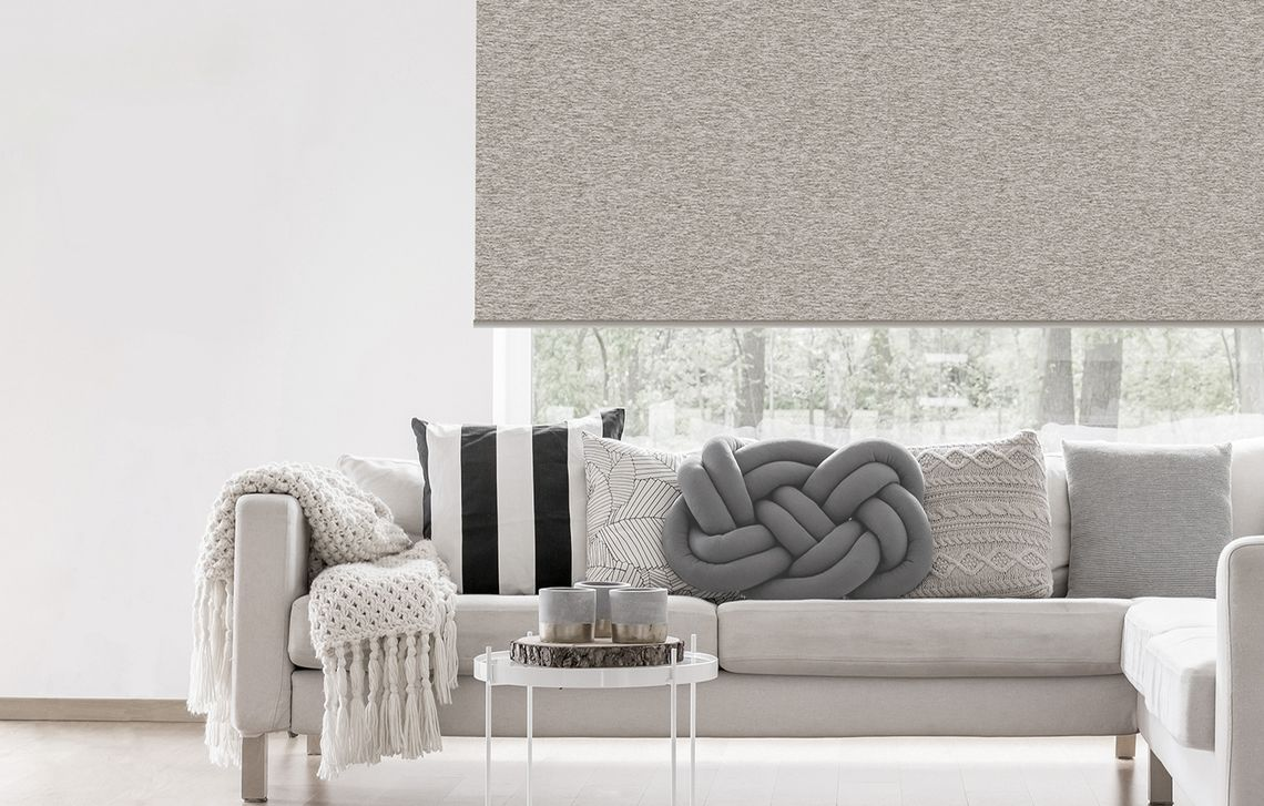 "living room with the design ""Glitter"" as blend"